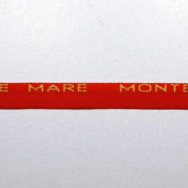 Лента плетеная с логотипом арт. 7080