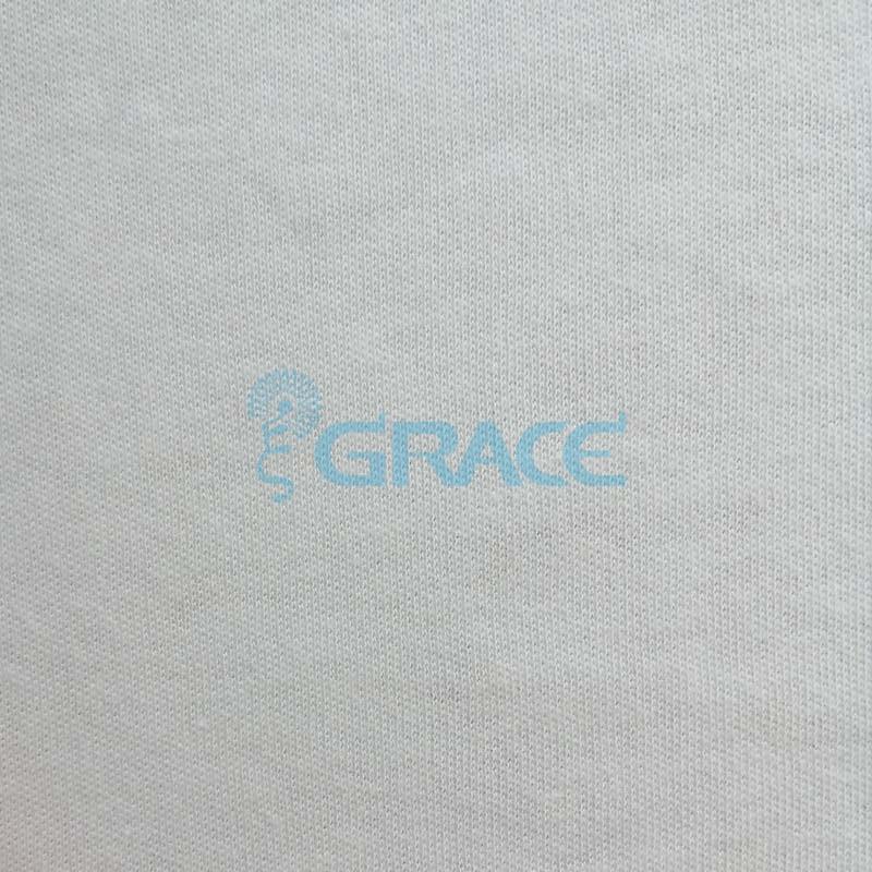 Интерлок GV105 - ткань хлопковая трикотажная, белая