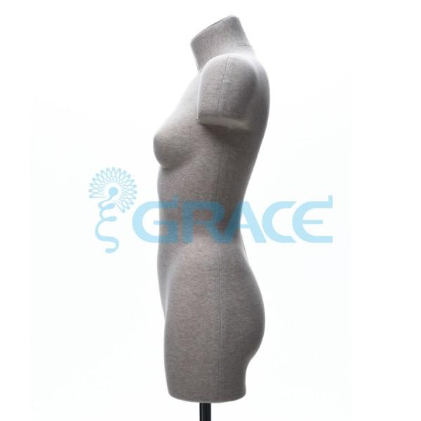 Манекен мягкий демонстрационный женский 42, 44 размер, телесный