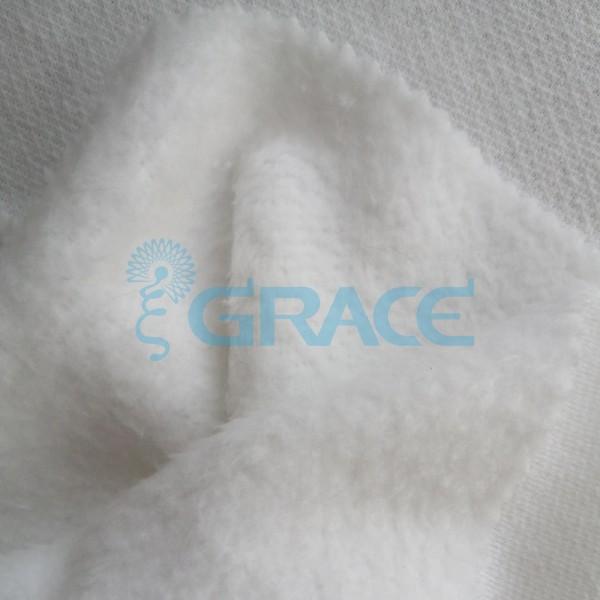 Футер alaska 280 - ткань хлопковая с начесом белая