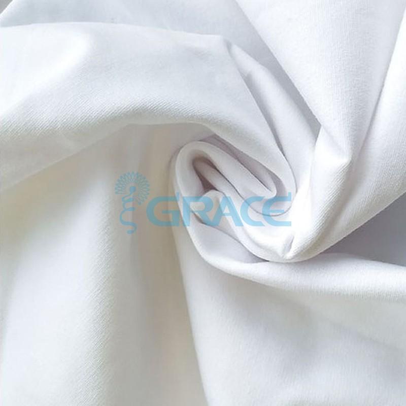 Футер 320 гр. - ткань хлопковая, петельчатый, белоснежный оттенок