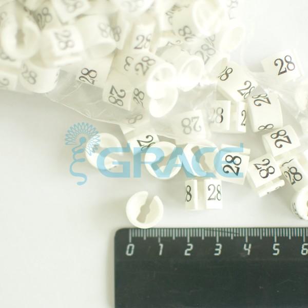 Размерник на вешалку NumY-160 (белый)