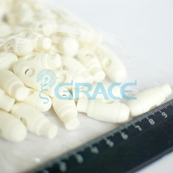 Фиксатор пластиковый для шнура Sto-13.50 (белый)
