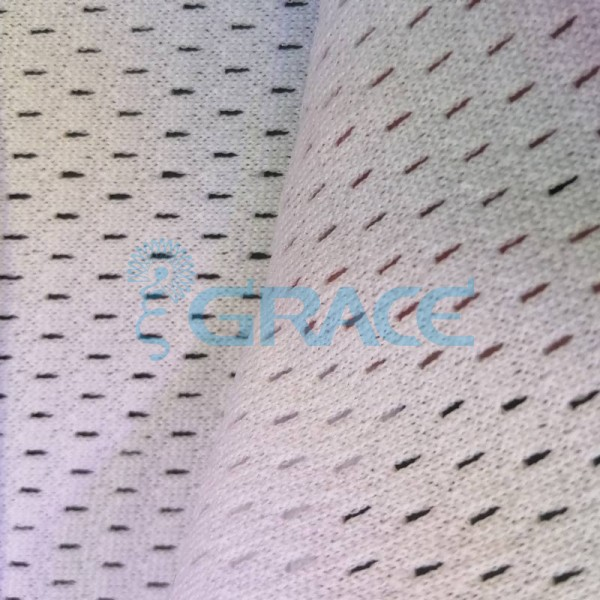 Спортивная сетка эластичная 194 гр/м², белая кримплен, Siatka bistor S 1150 B