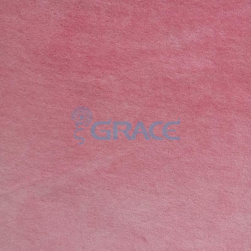 Трикотажный велюр эластичный 240 гр./м², розовый GVW210