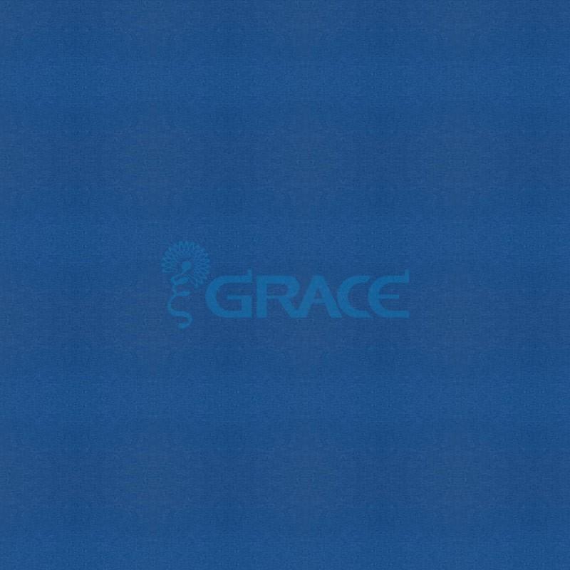 Ткань софтшелл (softshell) - трехслойная с мембраной, голубая 3506