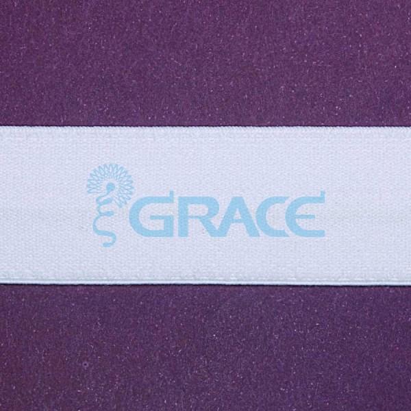 Резинка декоративная с принтом