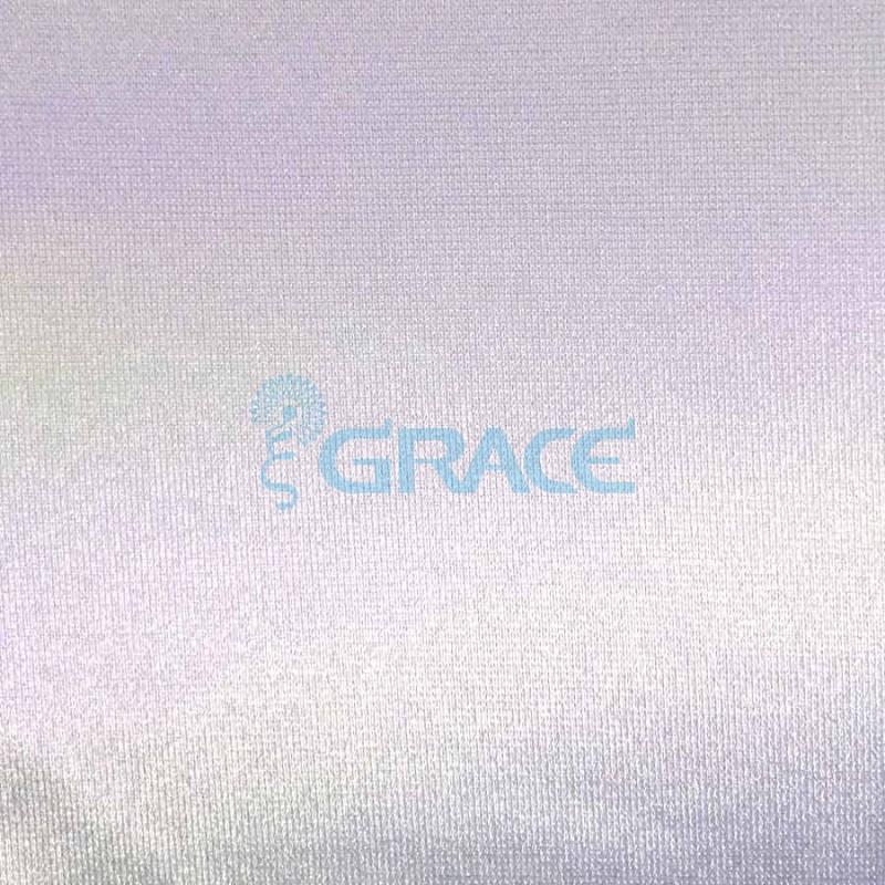Трикотажный подклад эластичный 150 гр/м², белый атласный Satyneta KR