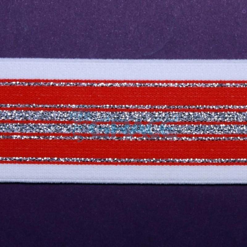 Резинка декоративная металлизированная арт. 5140