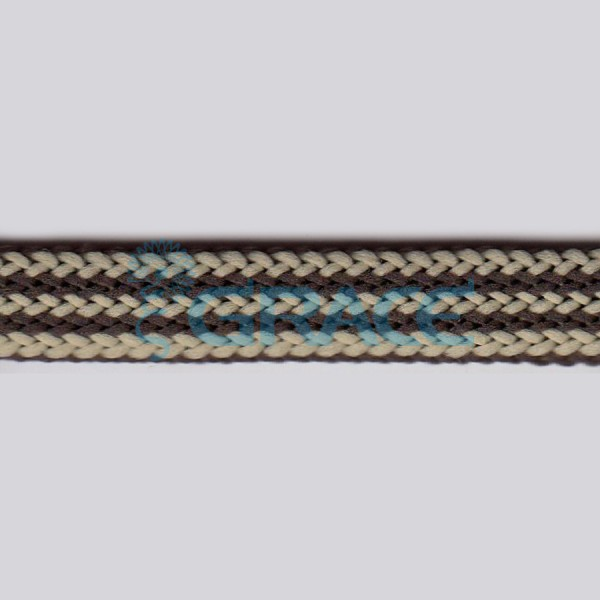 Шнур плоский вязаный арт. 1470