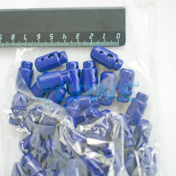 Фиксатор пластиковый для шнура Sto-13.50 (синий)