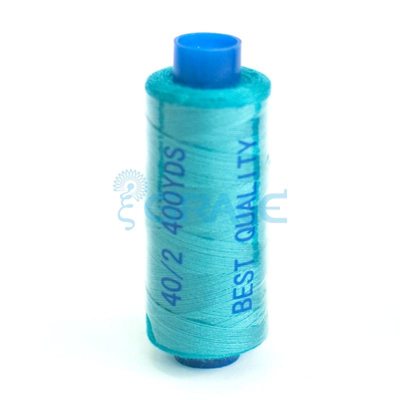 Нитки швейные Grace 40/2 (сине-голубые)