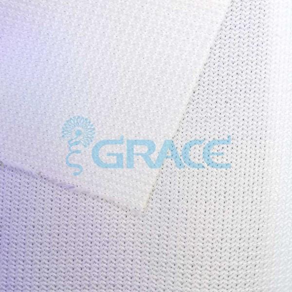 Трикотажный подклад эластичный 115-120 гр/м², белый Dzianina Obrusowa