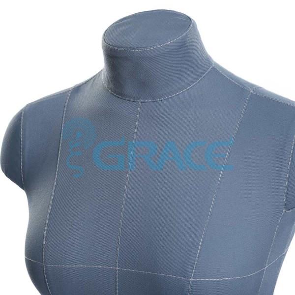 Манекен мягкий ГОСТ с разметкой женский 42 размер, синий