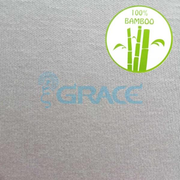 Интерлок bambus 200 szary GVIB07 - ткань хлопковая трикотажная, бежевая