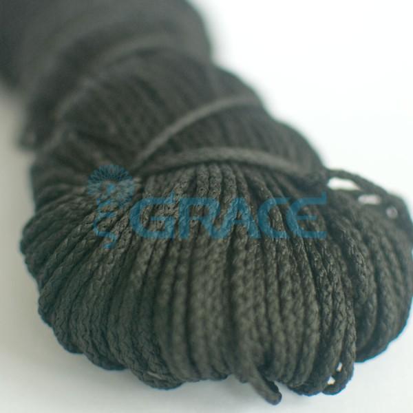 Шнур для одежды SzK Y 1620.2 (черный)