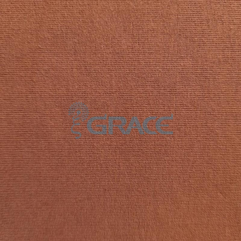 Футер 280 гр. - ткань хлопковая, петельчатая, карамельного цвета