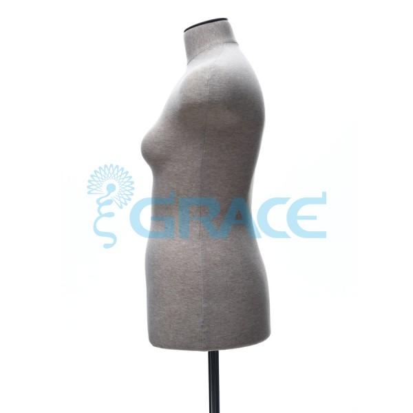 Манекен мягкий торс женский 46 размер, телесный