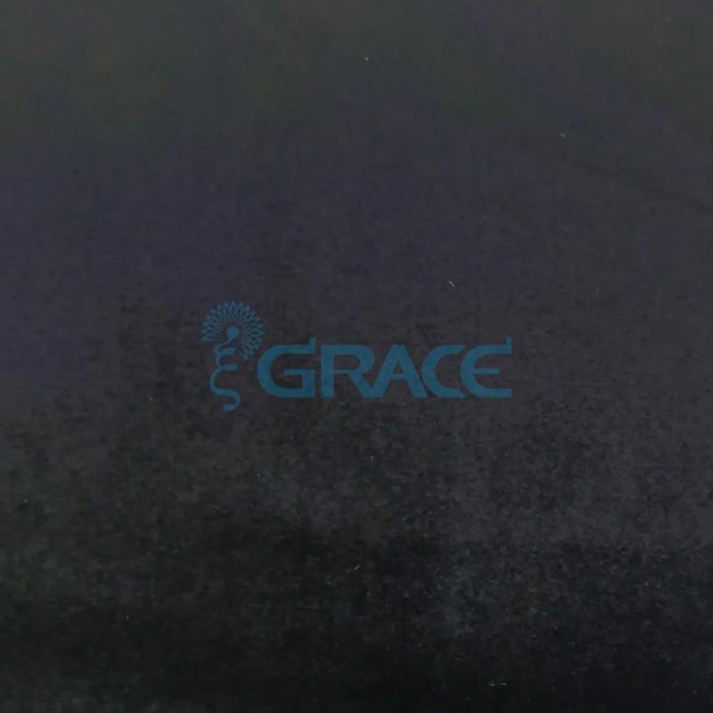 Трикотажный бархат эластичный 240 гр./м², черный Aksamitna Elas - PP/D