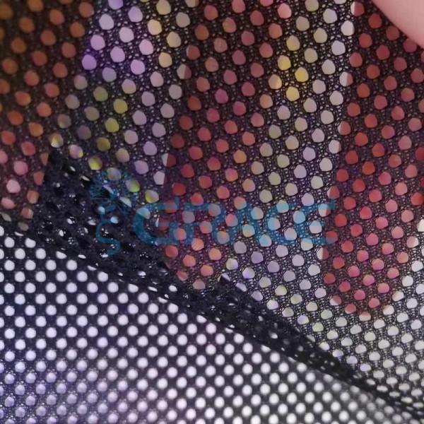 Спортивная сетка эластичная 74 гр/м², черная мелкая, Siatka S 301 T
