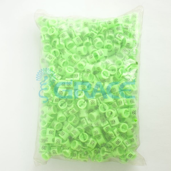 Размерник на вешалку NumY-160 (зеленый)