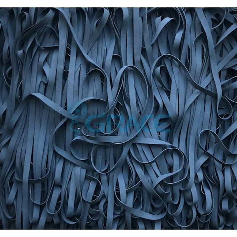 Латексная резинка 7 мм (черная)