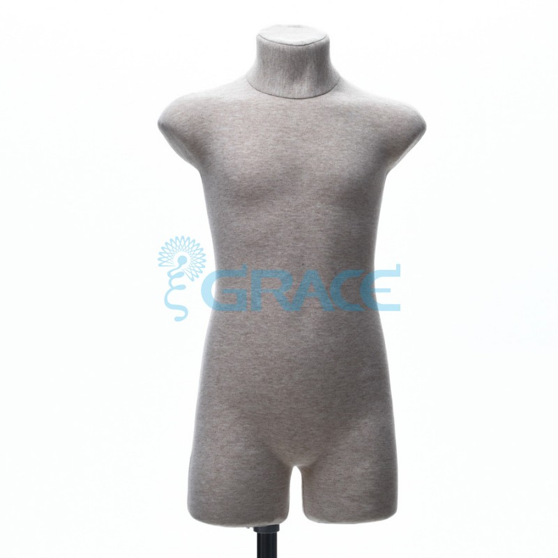 Манекен мягкий демонстрационный детский  32, 34 размер, телесный