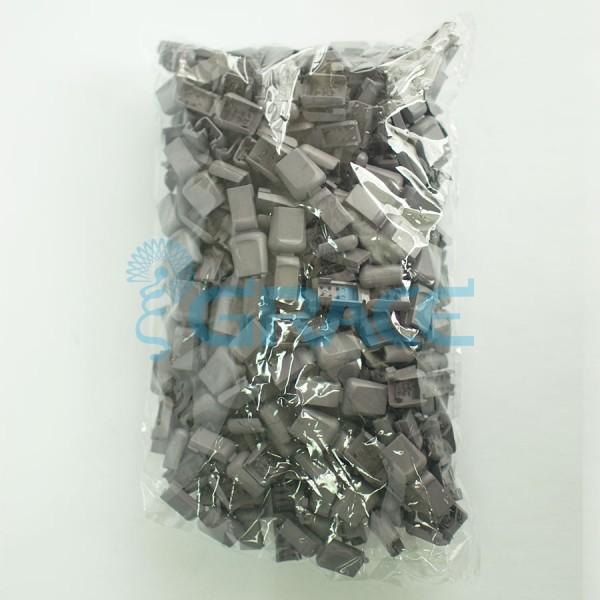 Концевик пластиковый для шнура Dzw M503 (серый)