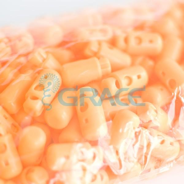 Фиксатор пластиковый для шнура Sto-13.50 (оранжевый)