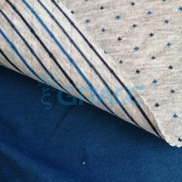 Коллекция интерлок с рисунком точки - ткань хлопковая, трикотаж
