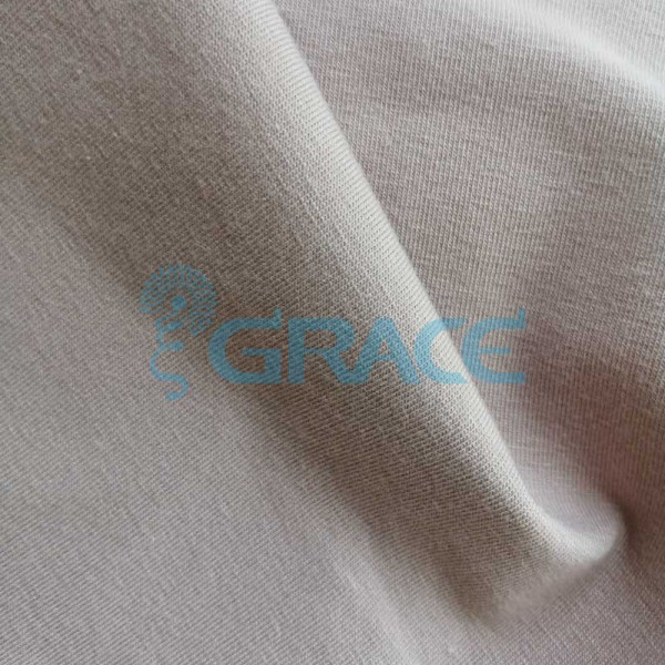 Кулирка GVS38 Malaga 150 - ткань хлопковая трикотажная, бежевая