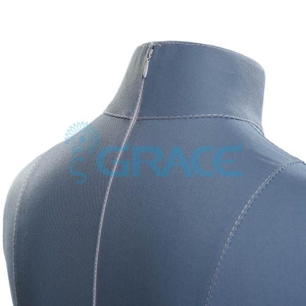 Манекен мягкий ГОСТ с разметкой женский 48 размер, синий