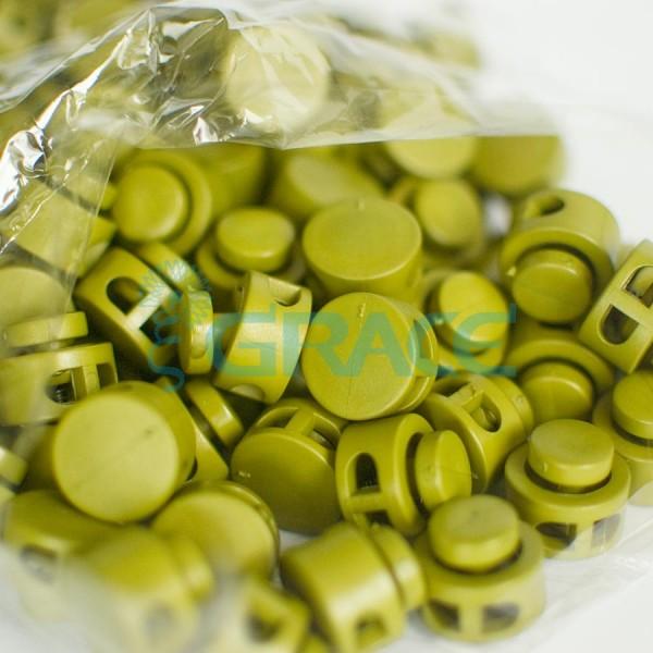Фиксатор пластиковый для шнура Sto M 27001 gz (оливковый)