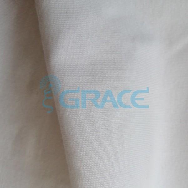 Кулирка GVS33 - ткань хлопковая трикотажная, белая