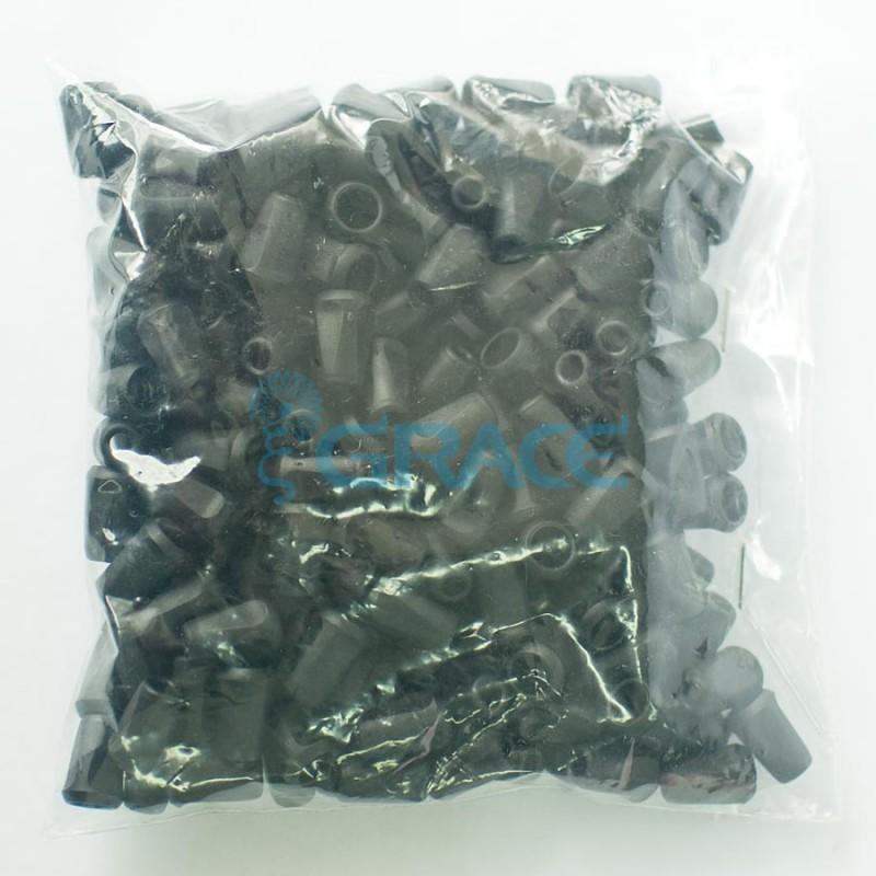 Наконечник пластиковый для шнура Dzw Yp - 01.50 (черный)