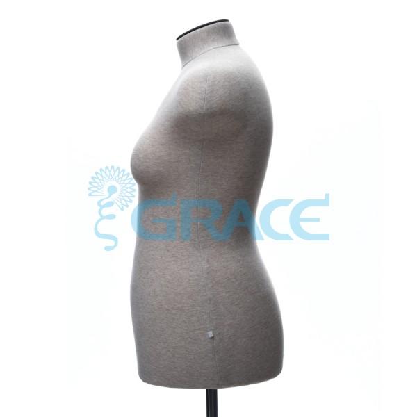Манекен мягкий торс женский 50 размер, телесный
