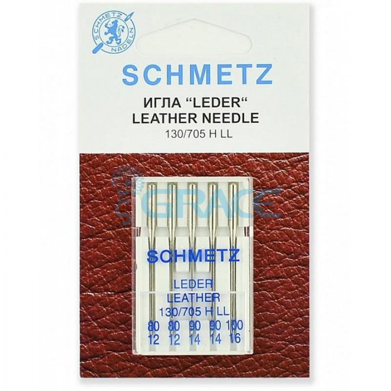 Иглы для джинсы Schmetz 80(2), 90(2), 100