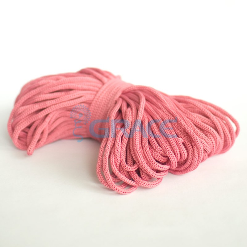 Шнур для одежды Szk YP 4 (темно-розовый)