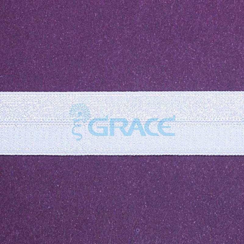 Резинка декоративная тканая с блеском