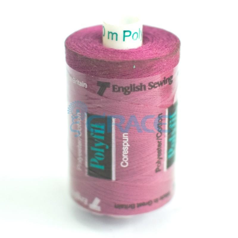 Нитки швейные Polyfil Corespun (фиолетовые)