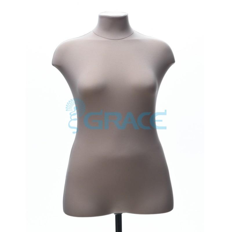 Манекен мягкий ГОСТ женский 48 размер, телесный