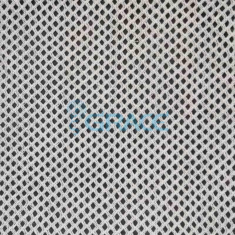 Спортивная сетка хлопковая 80 гр/м², мелкая белая, Dzianina S 2200 C
