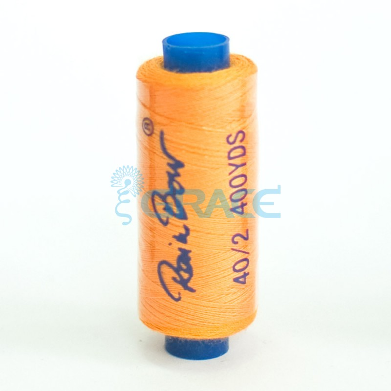 Нитки швейные Grace 40/2 (светло-оранжевые)